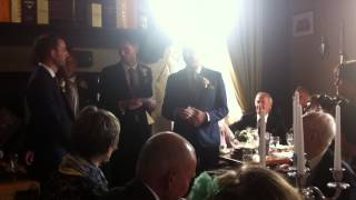 Best Man Speech - Skelton Wedding - 30/05/15(Best Man Speech by Chris Kemm and Adam Currie, at the Wedding of Chris Skelton and Catherine Boddie. 30/05/2015 - The Cricket Inn, Sheffield., 2015-06-27T14:04:34.000Z)