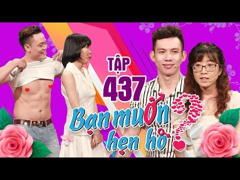 WANNA DATE #437 UNCUT|Pushing a button for the muscles - Doing push-ups with the lady on his back