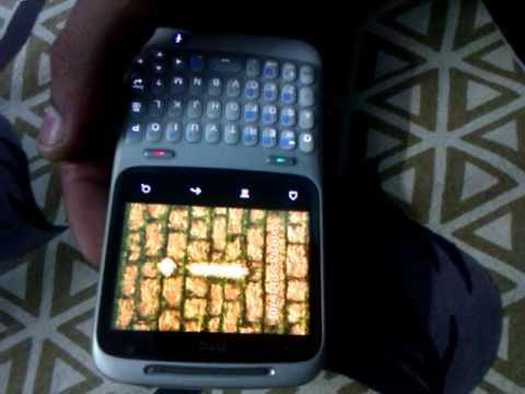 Temple run on HTC chacha