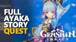 Full Ayaka Story Genshin Impact Quest