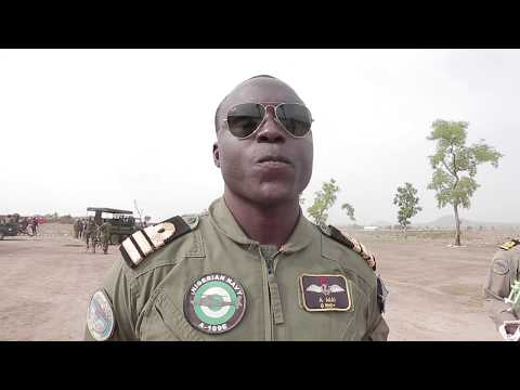 Nigerian Navy Special Forces Pilots