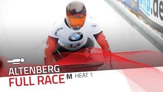 Altenberg | BMW IBSF World Cup 2016/2017 - Men's Skeleton Heat 1 | IBSF Official
