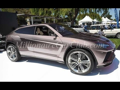 lamborghini urus suv preview youtube. Black Bedroom Furniture Sets. Home Design Ideas