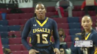 Miller's Last-Second Three Lifts La Salle to Overtime Win at Penn, 58-56