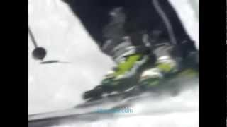 Урок 7  Видео как научиться кататься на горных лыжах