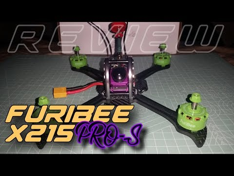 Furibee X215 PRO-S  (NEW version) w/ the FORT X Stack -This one with 1080P camera & DVR