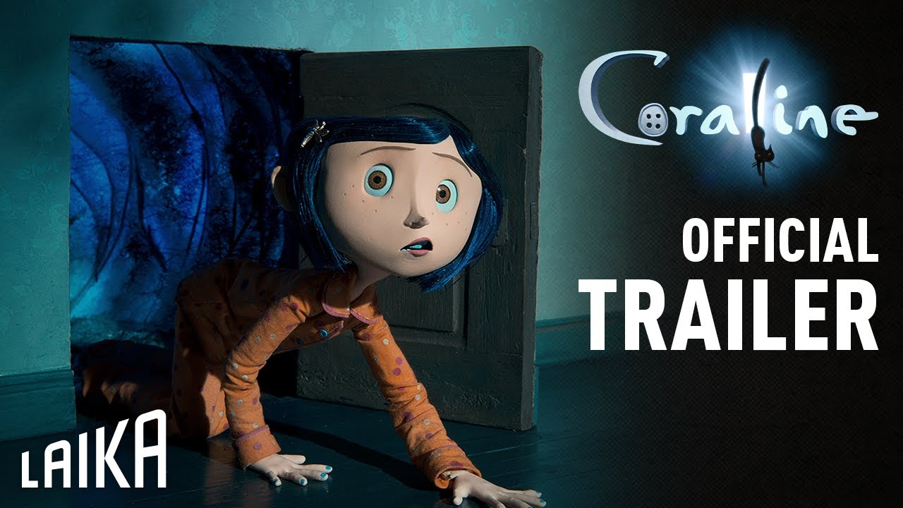 Laika Coraline Official Trailer Youtube