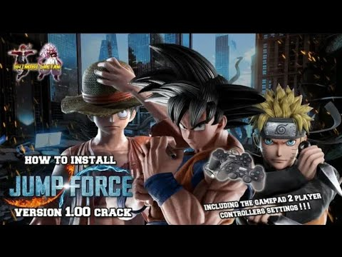 How To Download Jump Force Version 1.00 On PC-Codex+Crack