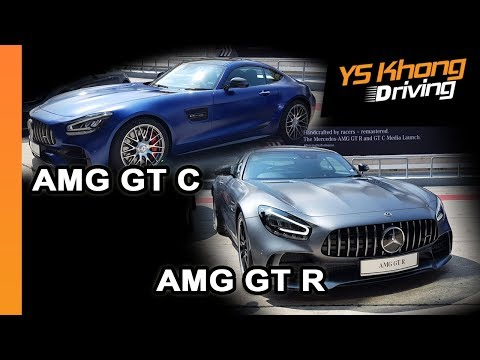 2019 Mercedes-AMG GT C And GT R Launch [Quick Walkaround Review] - The Road-Legal Race Car!