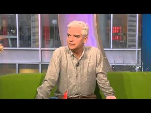 Phillip Schofield on The One Show (The Cube interview) - 4th April 2013