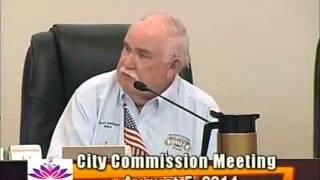 Ocoee commission meeting