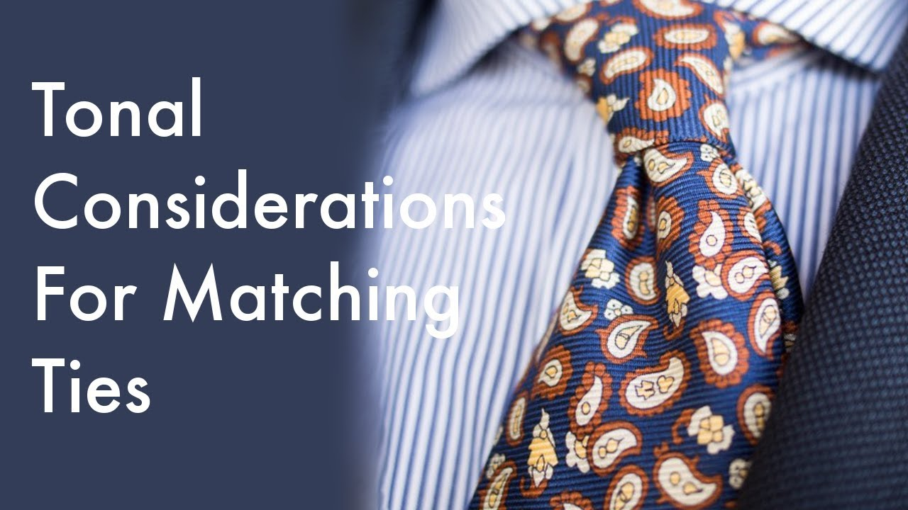 7c635cd90f84 How To Match Ties To Your Suits & Shirts