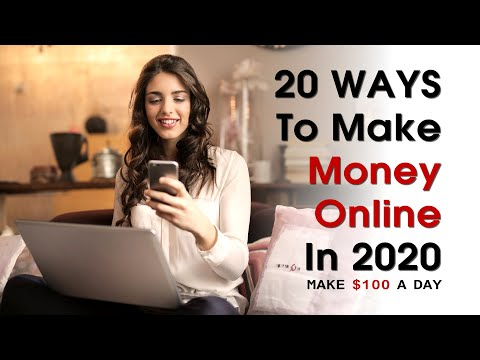 20 Legit Ways To Make Money And Passive Income Online | How To Make Money Online