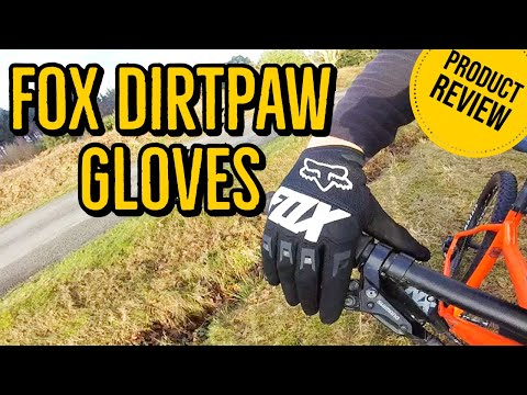 Fox Dirtpaw MTB Glove Mountain Bike Product Review