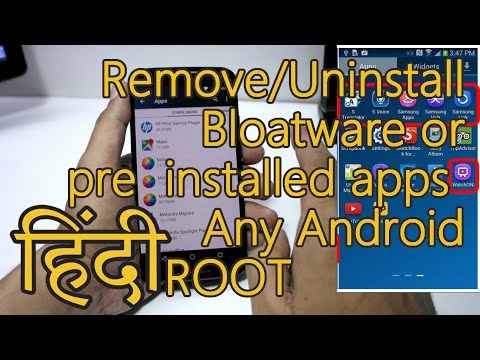 Vote No on : Remove ALL Bloatware from any Android Sma