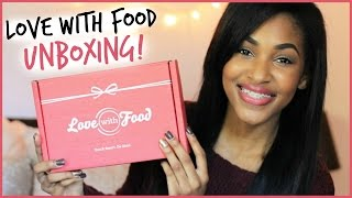 Love With Food UNBOXING! Thumbnail