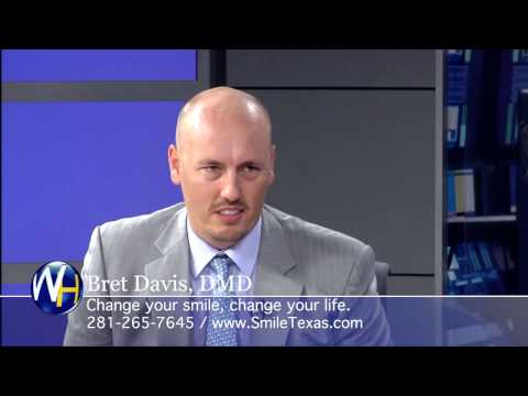 Houston Cosmetic Dentist Dr. Bret Davis explains his amazing 2-Visit Smile Makeover.