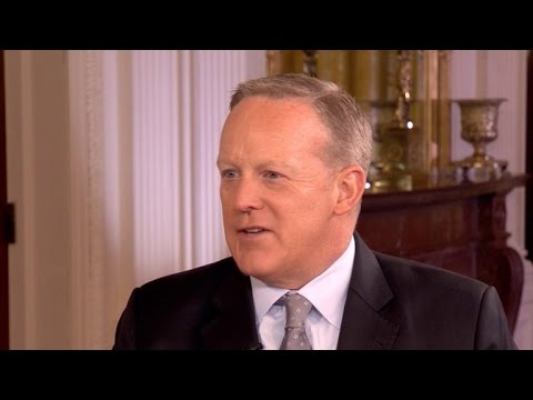 Press Secretary Sean Spicer on the White House