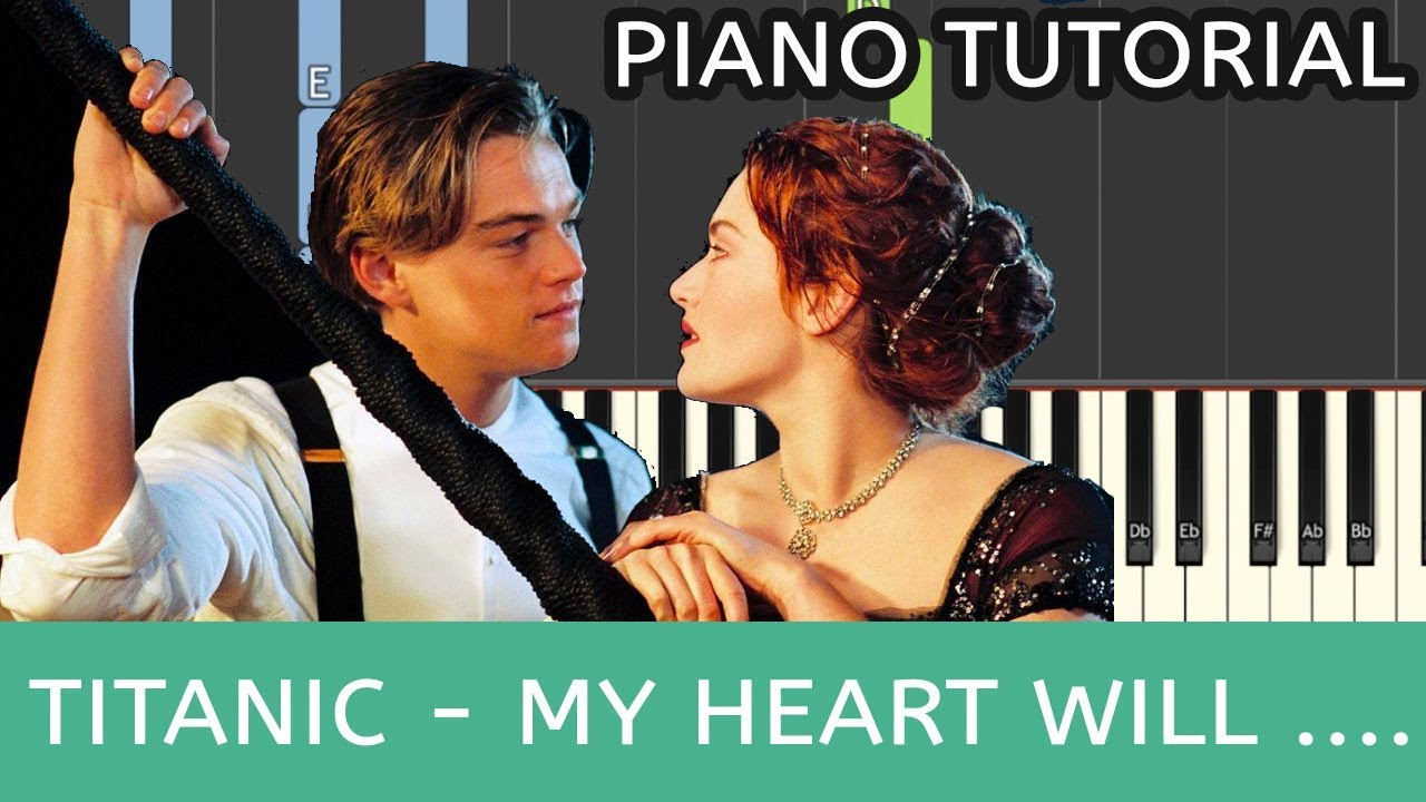 My Heart Will Go On (Titanic) Piano Notes & Chords - With Video Tutorial
