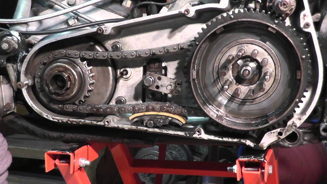 tech tips removing engine   harley shovelhead