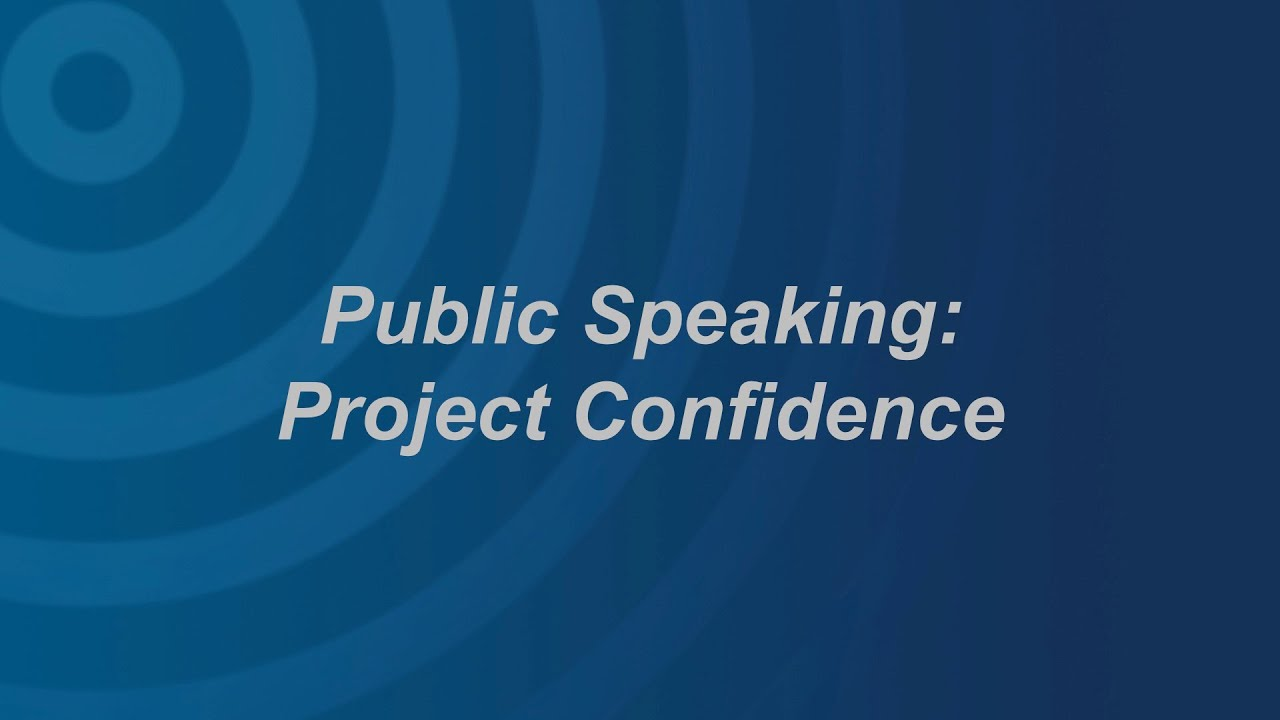 Project Confidence: Making Your Voice Sound Confident