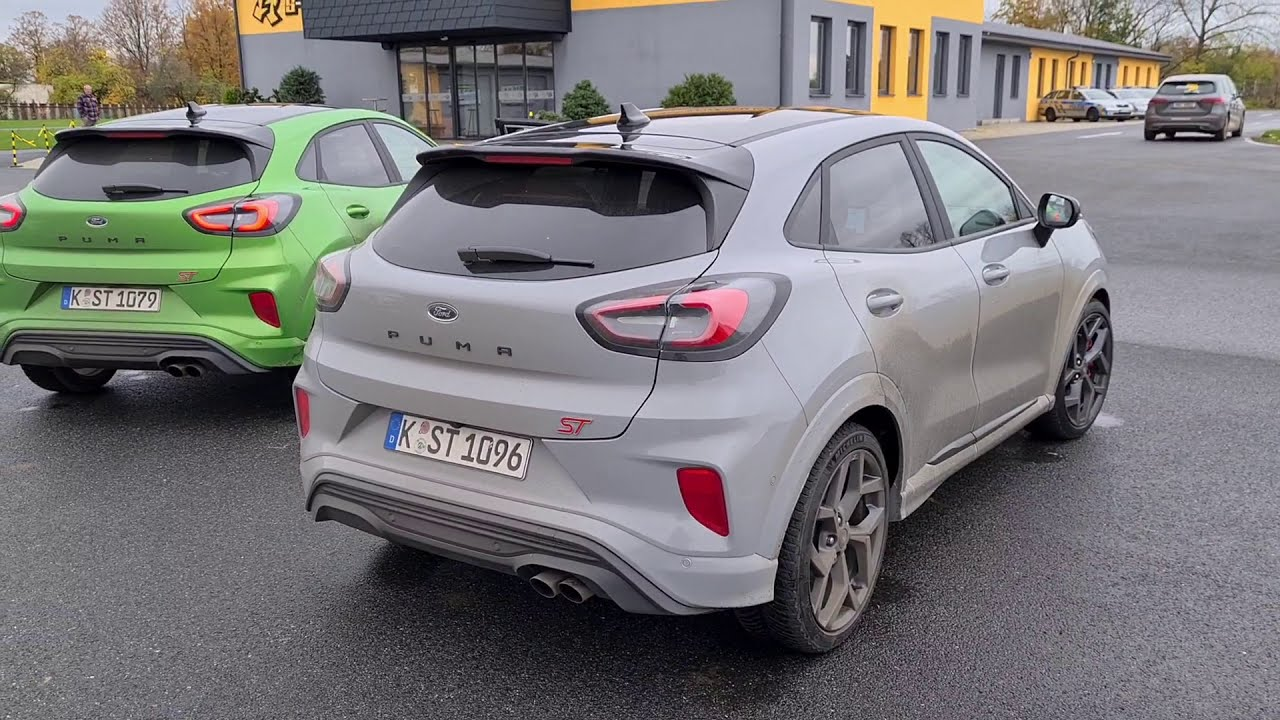 2020 Ford Puma ST: engine & exhaust sound