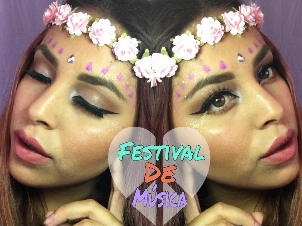 df0c92bb1 maquillaje festival de musica /maquillaje hippie - YouTube