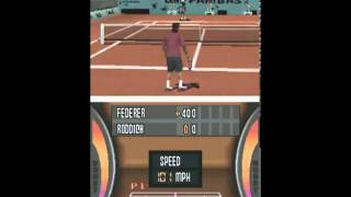 Top Spin 3 DS Gameplay