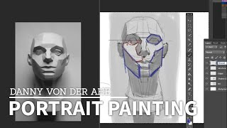 Digital Portrait Painting - How to Paint in Photoshop