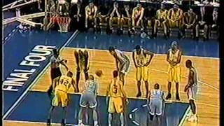 04/05/1993 NCAA National Championship:  E1 North Carolina Tar Heels vs. W1 Michigan Wolverines