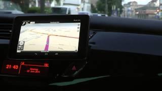 Navfree бесплатная offline навигационная программа навигатор android тест обзор на русском часть 2