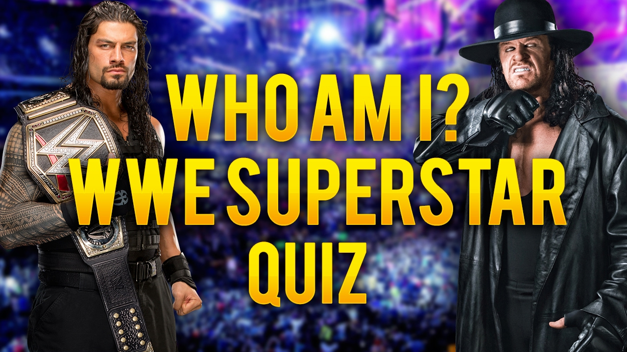 which wwe superstar am i personality quiz test youtube. Black Bedroom Furniture Sets. Home Design Ideas