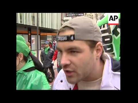 Protest against Volkswagen job cuts