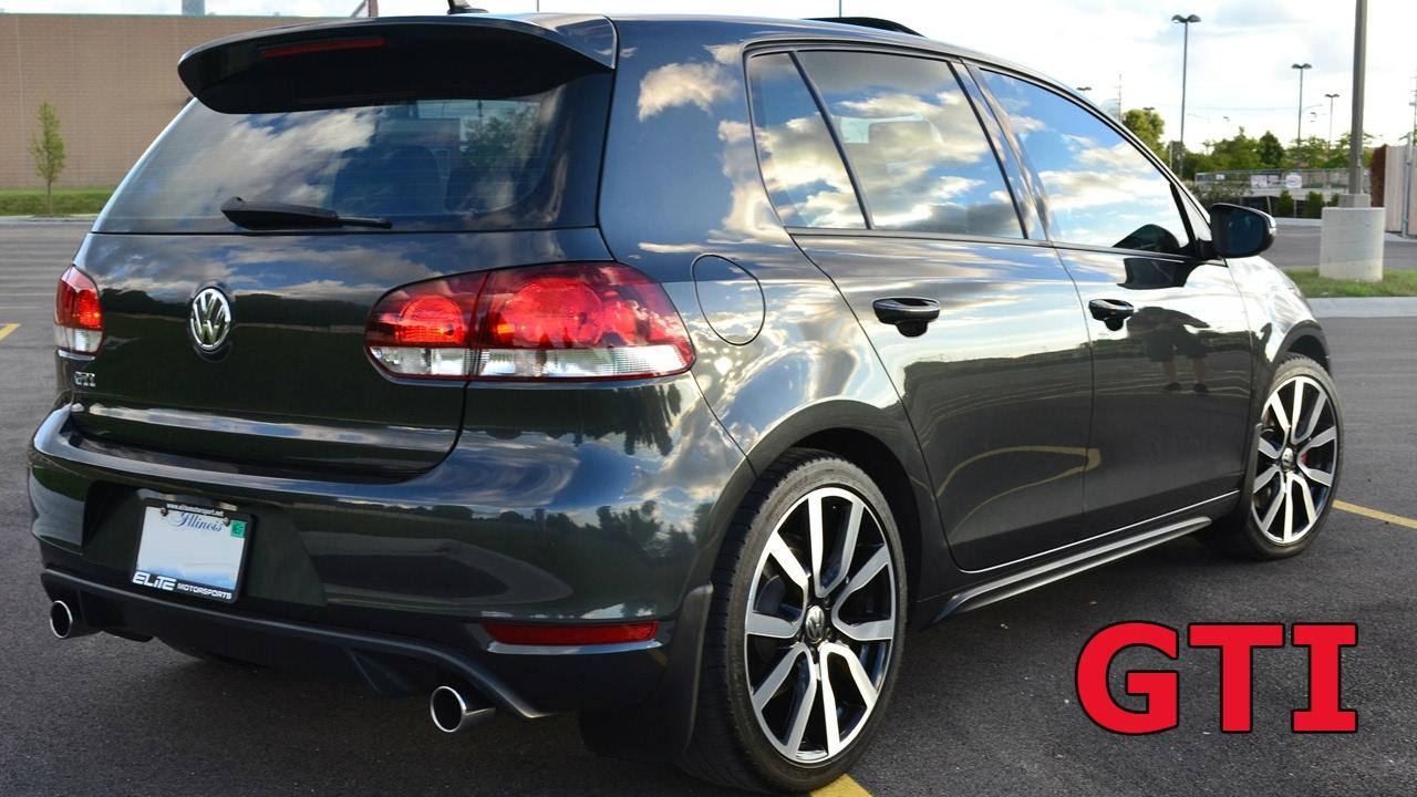 2012 Volkswagen GTI Autobahn DSG 4-Door Hatchback 37th - YouTube