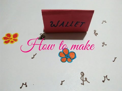 How to make a origami wallet for school children