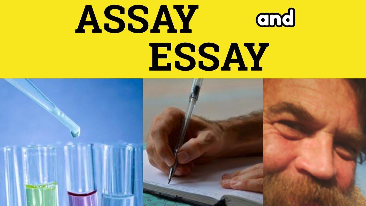 Download 🔵 Assay Essay - Assay Meaning - Essay Defined - Assay Examples