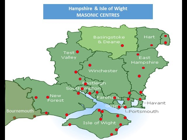 Introduction to Freemasonry in Hampshire and Isle of Wight
