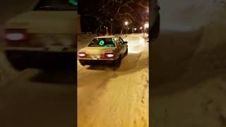 В Брянске водителя наказали за новогодний автопробег по парку имени Пушкина
