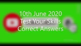 10 June 2020 | World GK Questions Answers | Today General Knowledge Quiz | GK for Competitive Exams screenshot 5