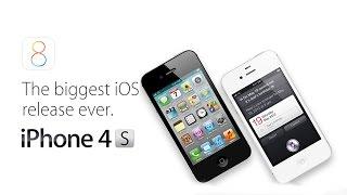 iOS 8 GM  Экспресс обзор. Тормозит или нет iOS 8 GM на iPhone 4S(, 2014-09-18T19:07:51.000Z)