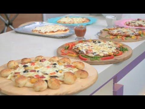 صورة  طريقة عمل البيتزا العزومة مع الشيف فاطمة أبو حاتي | حلقة خاصة للبيتزا: عجينتين بيتزا ولا أسهل من كده وصوصات مختلفة طريقة عمل البيتزا بالفراخ من يوتيوب