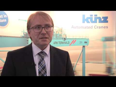 Kuenz: The Focus on RMG Cranes