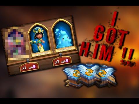 Castle Clash: I GOT HIM!! ❚ Power Leveling & 3 - LVL 5 Talent Chests