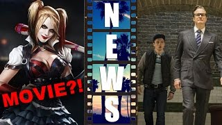 Harley Quinn Movie?! Kingsman The Secret Service 2015 delay! - Beyond The Trailer