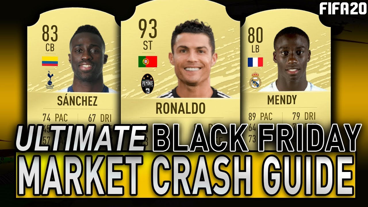 Fifa 20 Ultimate Black Friday Market Crash Guide Fifa 20 Trading To Glory Fifa 20 Ultimate Team Youtube