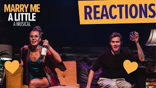 First Preview Reactions | Marry Me A Little starring Rob Houchen & Celinde Schoenmaker | #Shorts