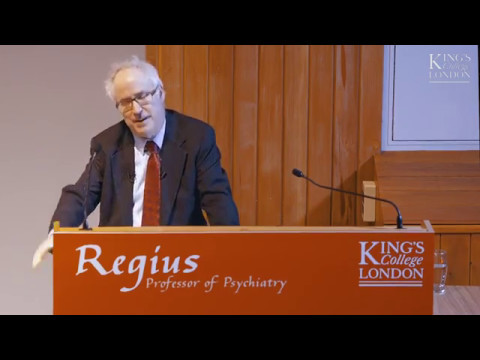 World's first Regius Chair in Psychiatry - Professor Sir Simon Wessely