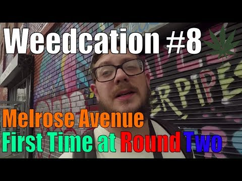 First Time at Round Two Hollywood | Los Angeles, California | Weedcation #8