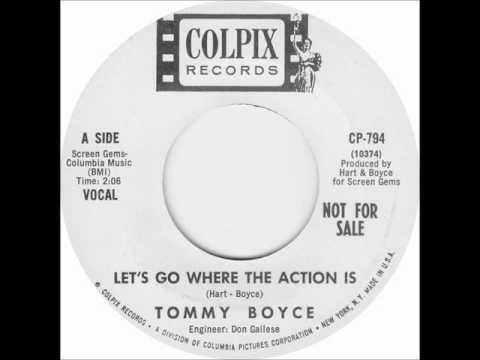 Tommy Boyce - Let's Go Where The Action Is