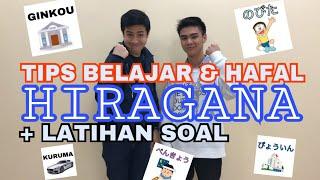Belajar Bahasa Jepang 3 | Tips Hafal Hiragana + Latihan soal hiragana
